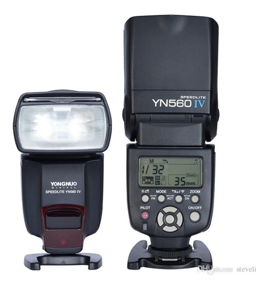Flash Yongnuo Yn560 Iv Para Canon E Nikon - Versão 2018 V4