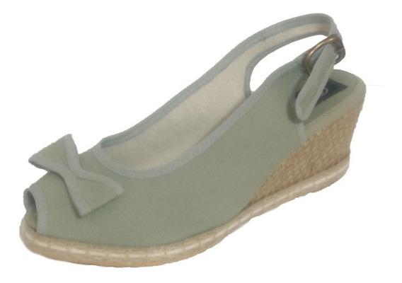 Sandalias De Mujer Con Moño Y Taco Chino - 302