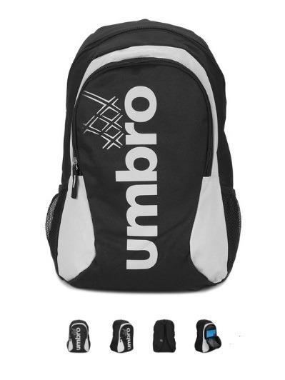 Mochila Umbro Prime Ii Com Porta Notebook - Preto/cinza