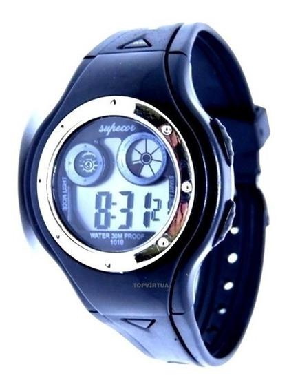 Relógio Infantil Digital Com Luz Alarme Cronometro Unissex