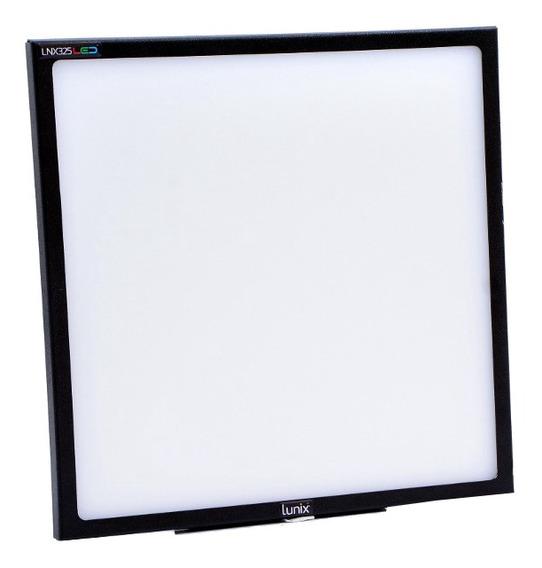 Luz contínua tipo painel Lunix LNX325 branca-quente/branca-fria 110V/220V