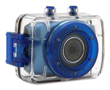 Câmera Filmadora Vivitar Hd Action Dvr785hd Az E Acessórios
