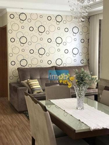 Imagem 1 de 30 de Apartamento À Venda, 89 M² Por R$ 640.000,00 - Gonzaga - Santos/sp - Ap7593