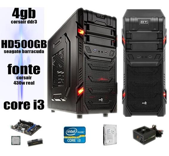 Cpu Gamer Intel I3 3.06 4gb Ram Fonte 430w Hd6570 Promoção