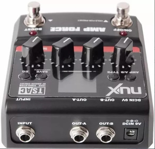 Nux Amp Force Emulador De Amplificadores Vox/fender/marshall