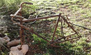 Cuadro Y Partes De Bicicleta - Cuotas Y Envío