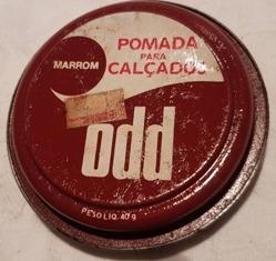 Odd Odd, Pomada Para Couros, Lata Original, No Estado De Uso