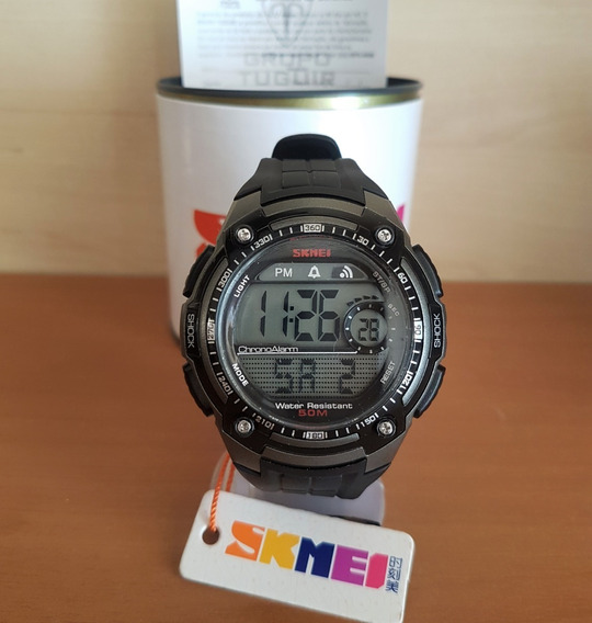 Relógio Skmei 1203 Titanium Original - Queima De Estoque