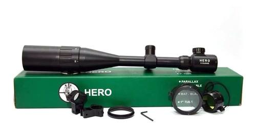 Luneta Hero 6x24x50 Original Retículo Luminoso Promoção