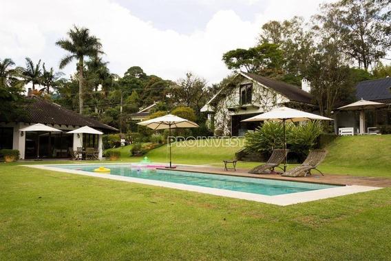 Casa Na Granja Viana -4 Dormitórios À Venda, 748 M² - Ca15670