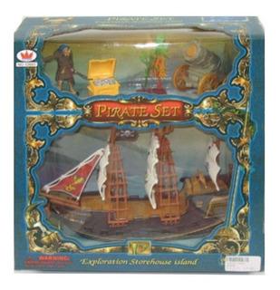 Barco Pirata Con Accesorios 340555 Envio Full