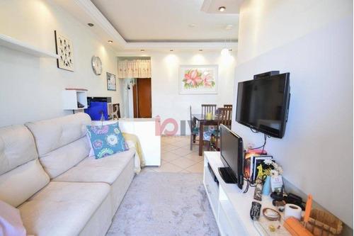 Apartamento Com 3 Dormitórios 3 Vagas De Garagem À Venda, 80 M² Por R$ 799.000 - Jardim Vila Mariana - São Paulo/sp - Ap3299