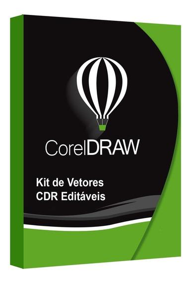 Vetor Com Combo 4 Vetores Corel Draw Modelos Dlima A Escolh