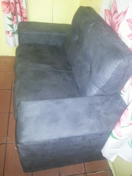Sofa Cinza 2 Lugares Com Garantia