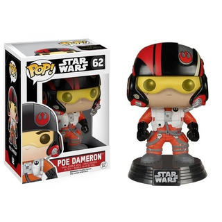 Funko Pop! Poe Dameron 62 -star Wars (vaulted)