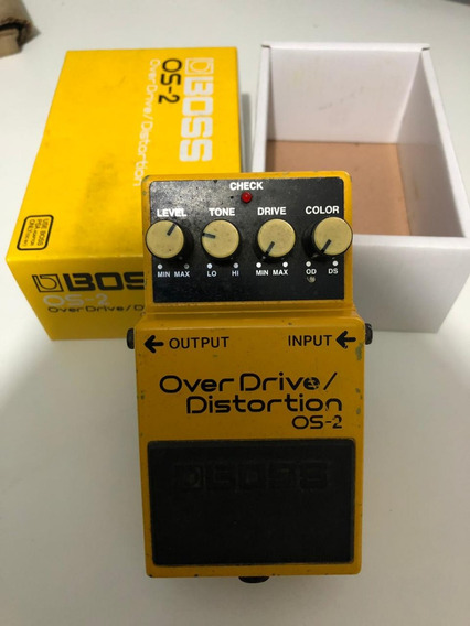 Pedal Boss Os-2 Overdrive Distortion Os2