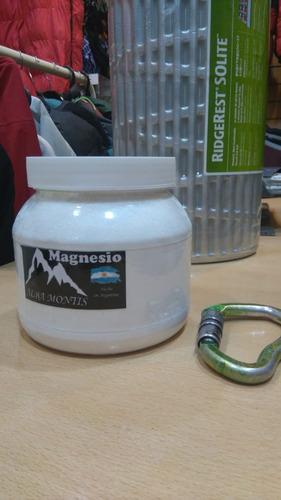 Magnesio Para Manos 1/2 Kg Elimina El Sudor, Da Mejor