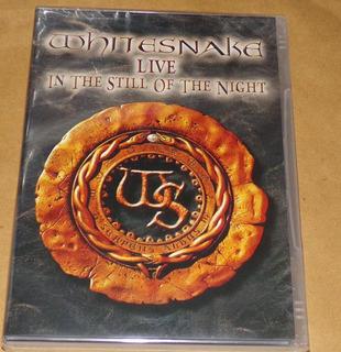 Whitesnake Live In The Still Of The Night Dvd Nuevo Kktus