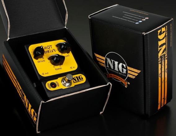 Pedal Nig Phd Pocket Hot Drive Overdrive, Promoção!!!