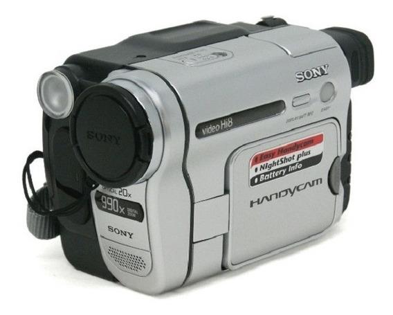 Filmadora Sony Ccd-trv138 Handycam Digital Zoom 990x Nova