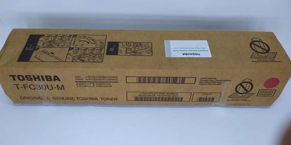 Toner Toshiba T Fc30u M Magenta 2050c 2550c 2051c 2551c Orig