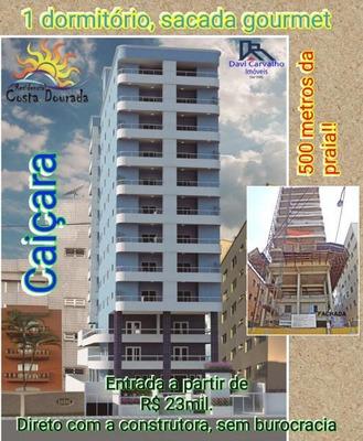 Apartamento Para Venda, Caiçara, 1 Dormitório, 1 Banheiro, 1 Vaga - Ap00017