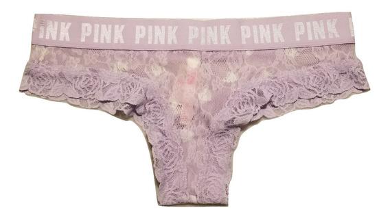Victoria´s Secret Pink Bombacha Colaless Cheekies Original