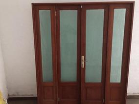 Puertas De Madera Principales Con Vidrio De Usado En Mercado Libre