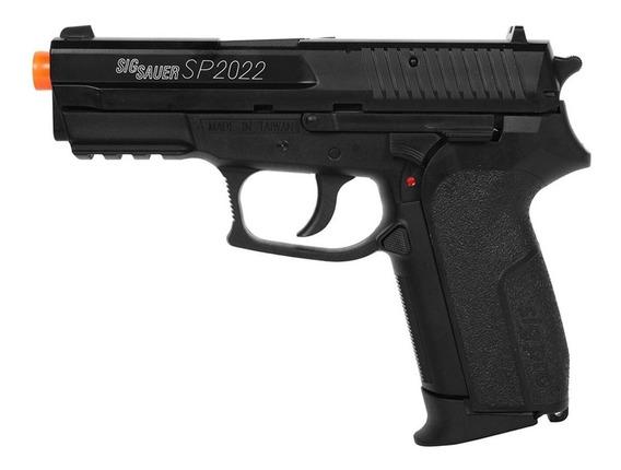 Pistola Airsoft Spring Cybergun Sig Sauer Sp2022 Licenciada