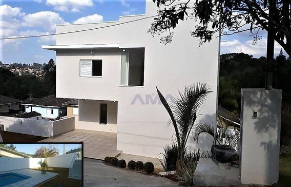 Casa Na Granja Viana P/ Pessoas Com Necessidades Especiais (pne), Só R$890.000,00 - Ac. 40% Permuta!! - Ca0866