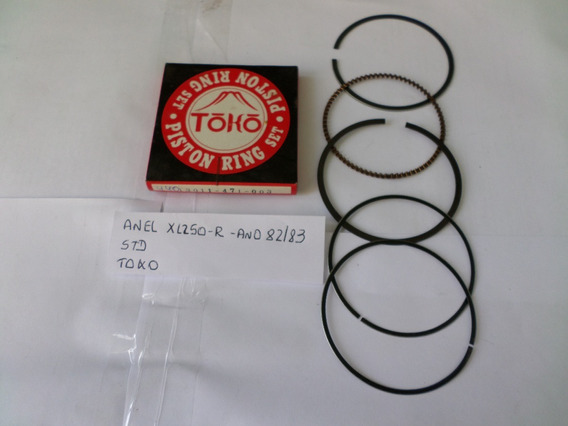 Anel Pistao Honda Xl250r Std- Ano 82/83 -toko