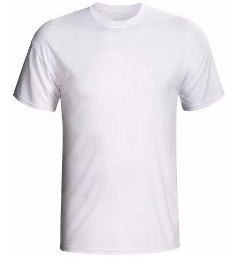 Camiseta Basica Lisa 100% Algodão G1 G2 G3 Tamanho Grande