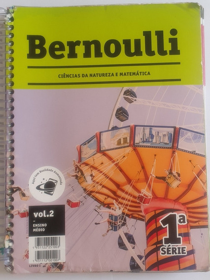 Livro Bernoulli Ensino Medio 1 Ano Vol 2 De 2019