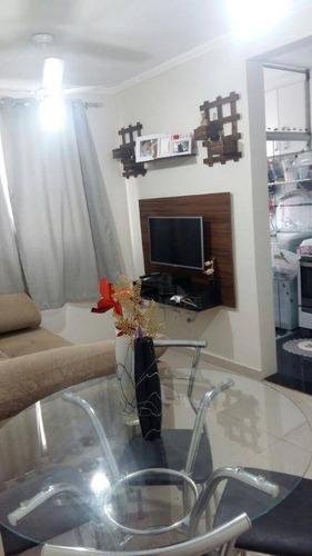 Imagem 1 de 8 de Apartamento Com 2 Dormitórios À Venda, 51 M² Por R$ 190.000 - Jardim Márcia - Campinas/sp - Ap17467