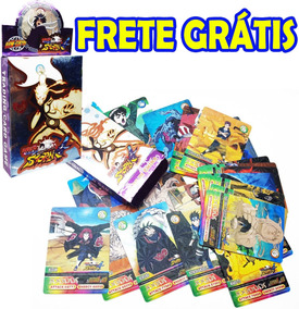 Deck 24 Cards Naruto Card Trading Game Atk & Def Holográfico