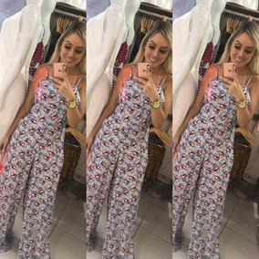 cf5030424 Macacao Pantalona Viscocrepe - Verão - Macacão Feminino no Mercado ...
