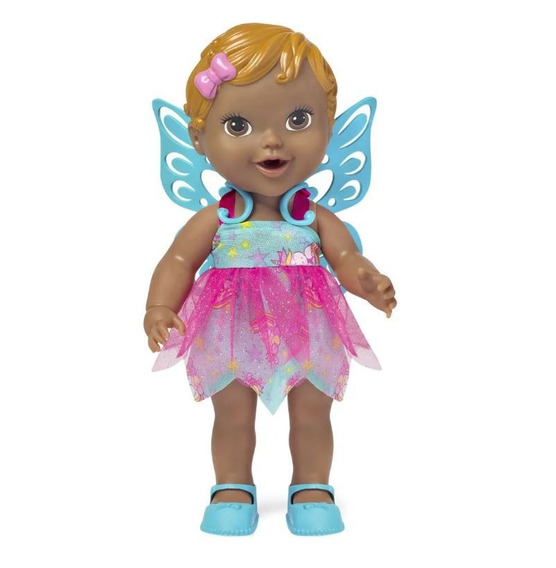 Baby Collection Fada Negra - Super Toys