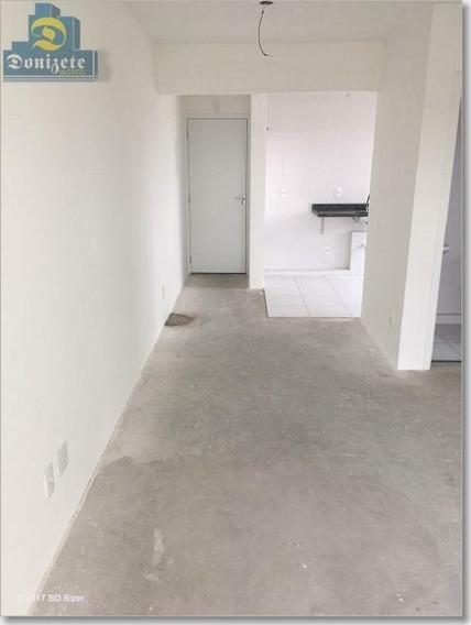 Apartamento Com 1 Dormitório À Venda, 50 M² Por R$ 259.800,00 - Vila Alto De Santo André - Santo André/sp - Ap5119