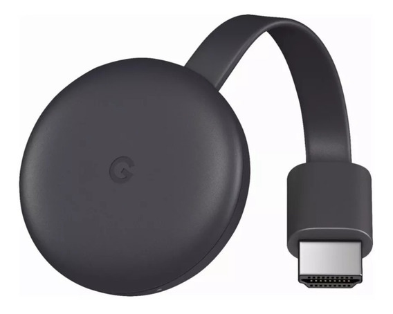 Google Chromecast 3 2019 Aparelho Transforma Sua Tv Em Smart