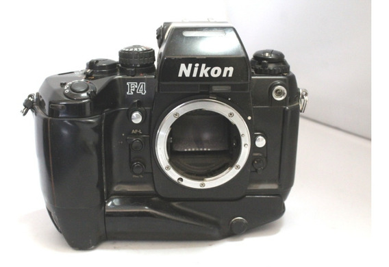 Câmera Fotografica Nikon F4 Coleção P/ Retirada De Peças