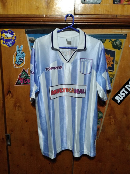 Camiseta Racing Club Topper Multicanal Titular 1995 Oferta