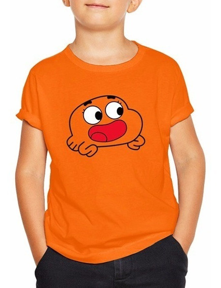 Playera Gumball Darwin Cartoon Niño Niña
