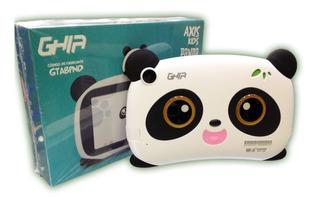 Tablet Ghia Kids 7 Pulgadas Antigolpes Panda Bluetooth 1gb