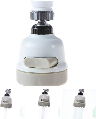 Imagen 1 de 7 de Grifo Ahorrador Y Filtro De Agua Difusor Gira 360° Giratorio