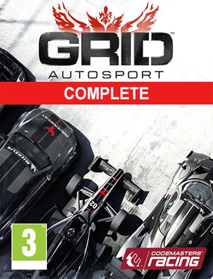 Grid Autosport Complete Edition Pc - Original (steam Key)