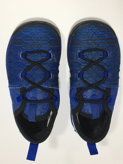 Tenis Nike N.us 10c 16 Cm Menino Azul
