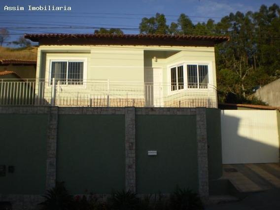 Casa Para Venda Em Volta Redonda, Morada Da Colina, 3 Dormitórios, 1 Suíte, 2 Banheiros, 4 Vagas - C026