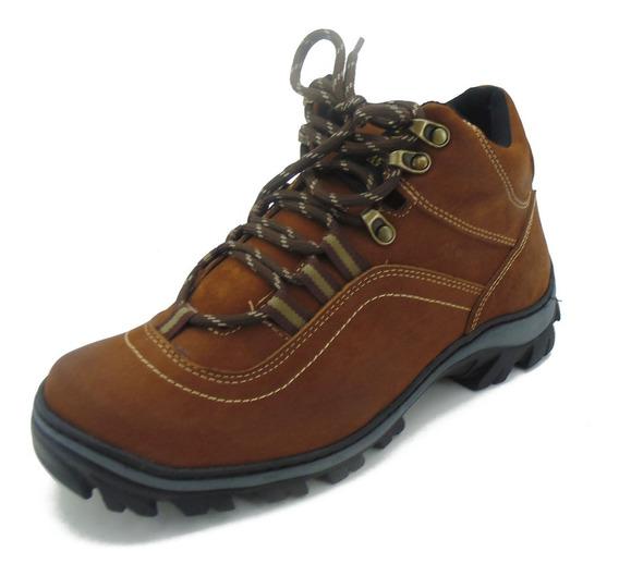 Tênis Adventure Atron Shoes Couro 256 Castor