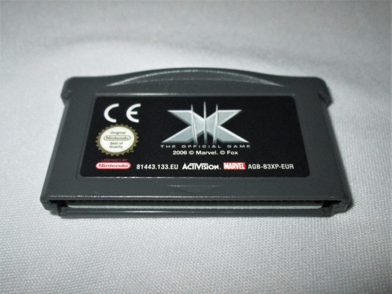 X Men The Official Game! Game Boy Advance! Nintendo Ds! Gba