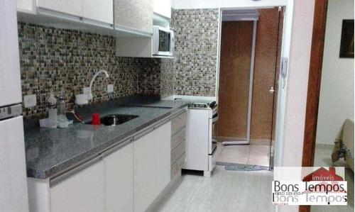Imagem 1 de 15 de Studio Com 2 Dormitórios À Venda, 37 M² Por R$ 195.000 - Vila Carmosina - São Paulo/sp - St0036